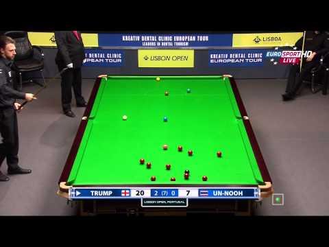 Snooker.Lisbon Open 2014. J. TRUMP-T. UN-NOOH. FR3