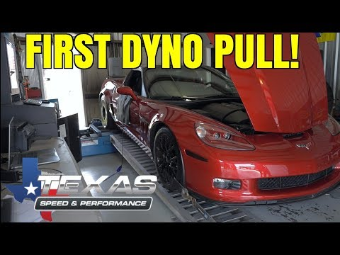 Adding MORE POWER and MORE LOUD to the Corvette!