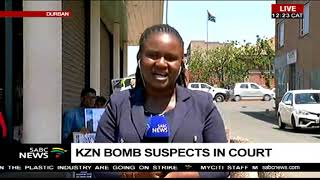 KZN bomb suspects in court