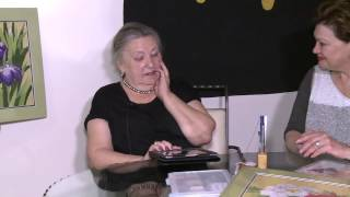 Галина Овсюк и старинная японская вышивка