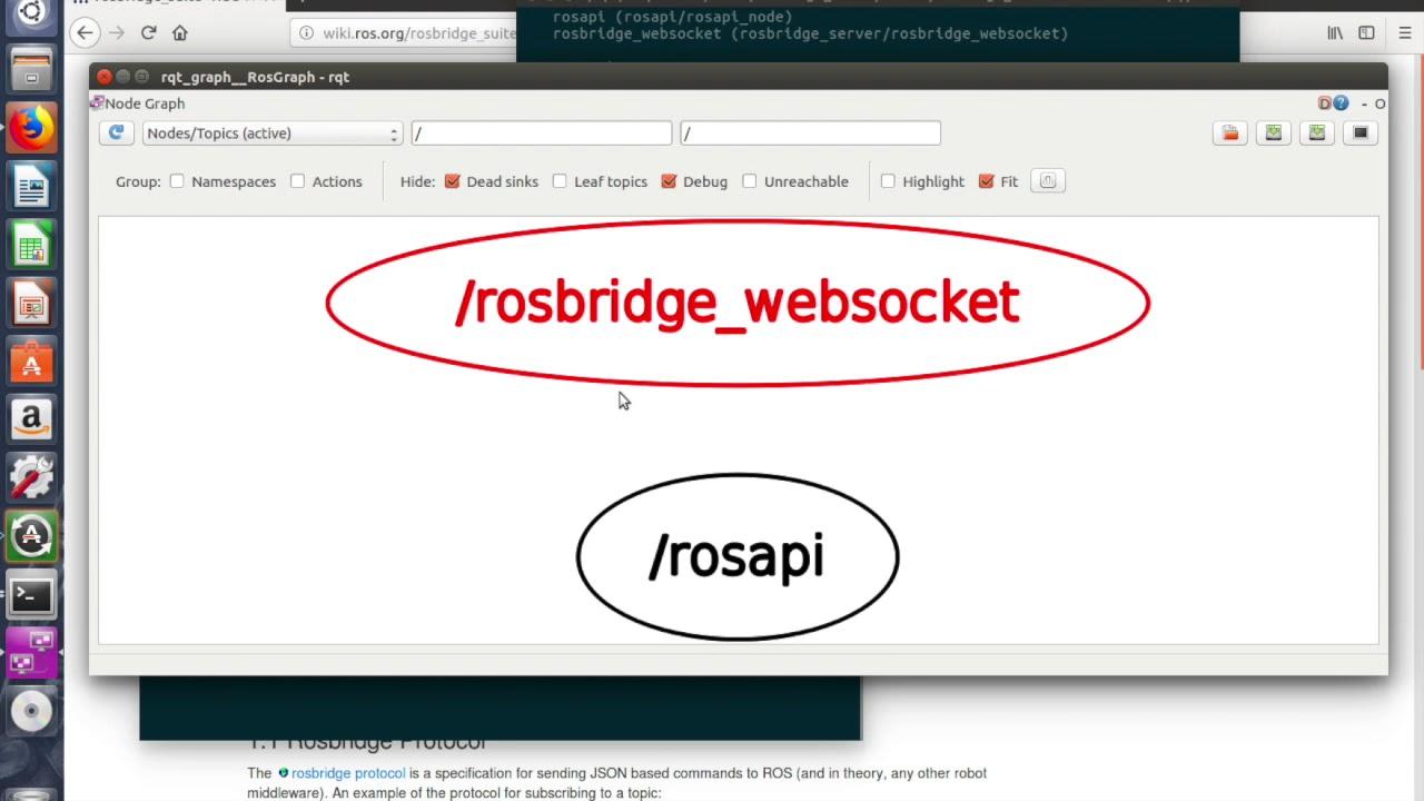 Corso di ROS - Introduzione a ROSBridge