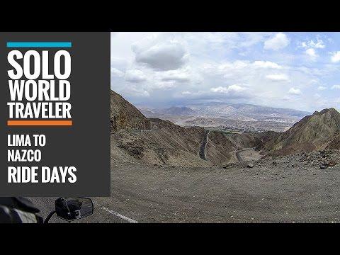 Ride Day 49: Lima, Peru to Nazca, Peru