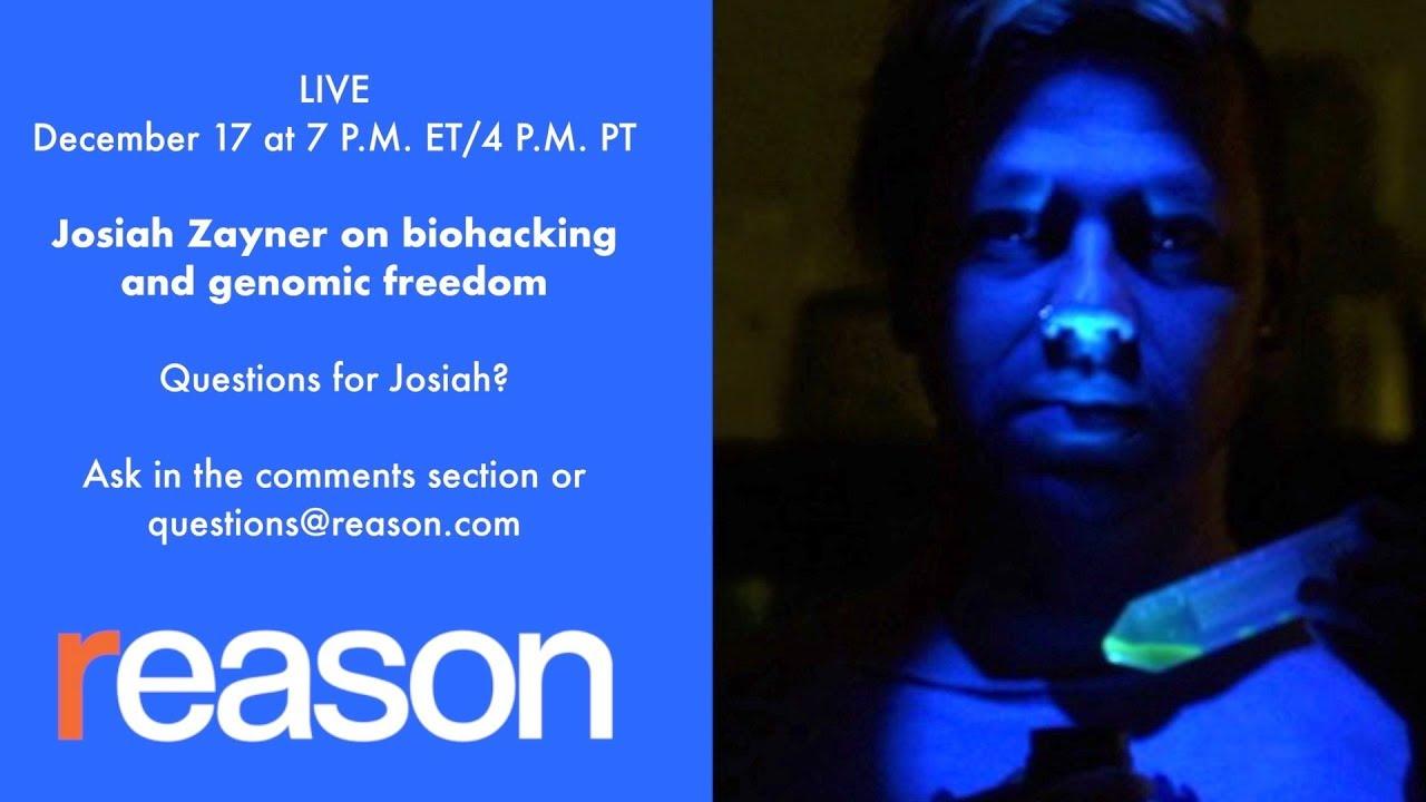 Biohacking, CRISPR, and Genomic Freedom with Josiah Zayner