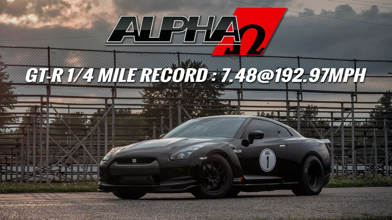 ALPHA OMEGA: The World's Quickest & Fastest R35 GT-R! - YouTube