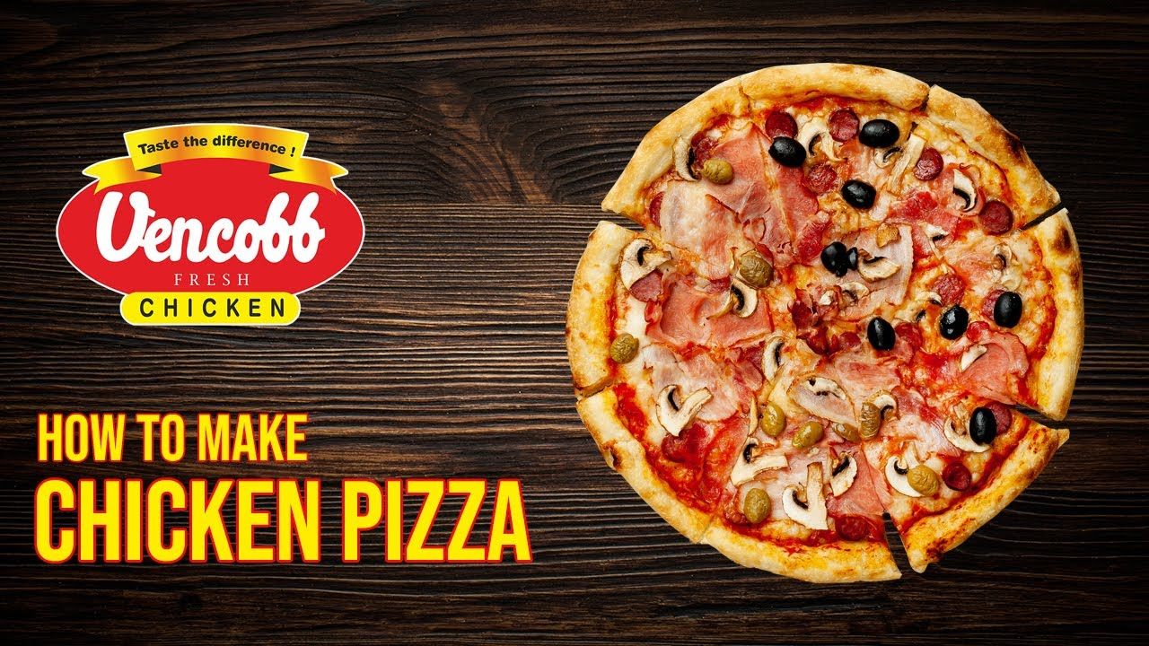 Watch How to Make Chicken Pizza video