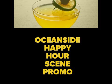 Visit Oceanside Happy Hour Scene