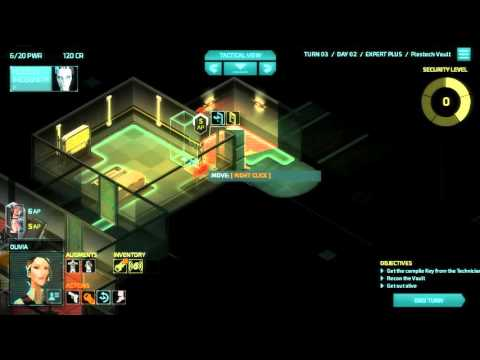 Invisible Inc Campaign 2-3 (Contingency Plan)
