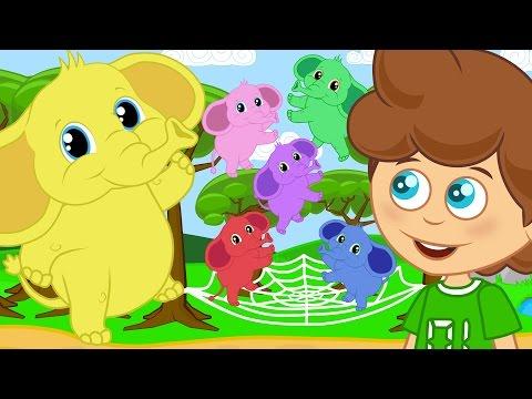 Zıpzıp Filler | Sevimli Dostlar Çizgi Film Çocuk Şarkıları 2016 | Adisebaba TV