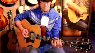 NAMM 2015 - Taylor Guitars - Acoustic Tones by Mr Gary Nichols (Song1)