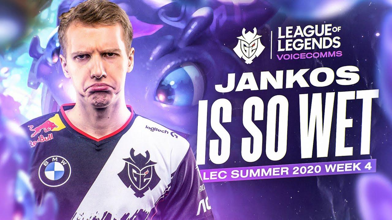 Jankos is so Wet | LEC Summer 2020 Week 4 Voicecomms
