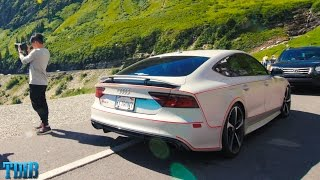 Craziest Road Trip Ever-NASTY 800HP RS7 Hauling Across The US
