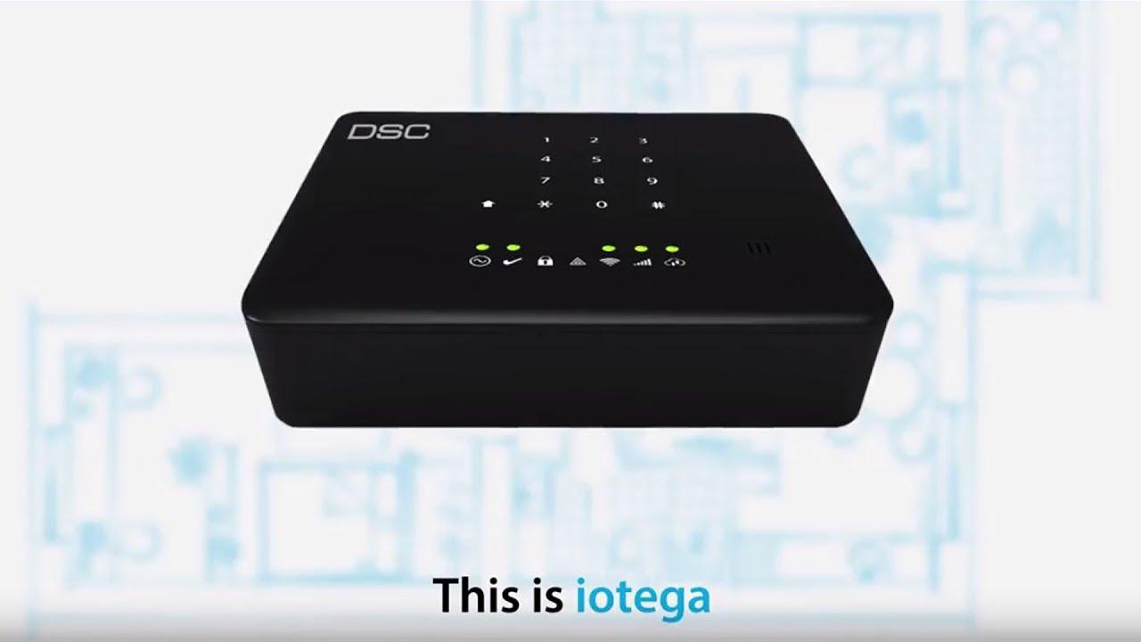 DSC iOtega Wireless DIY Home Security System - SafeHomeCentral