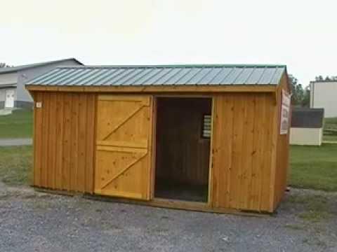 Video brochure horse barn stall youtube for 1 stall horse barn