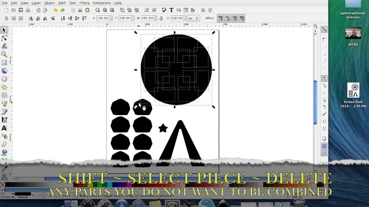 How To Use Silhouette Studio Files In Cricut Design Space - YouTube