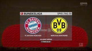 FIFA 18 Bundesliga Prognose | FC Bayern München - Borussia Dortmund