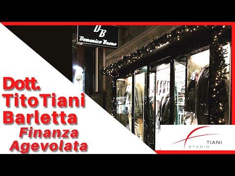 COMMERCIALISTA BARLETTA TITO TIANI - FINANZA AGEVOLATA STUDIO TIANI - DOMENICO BUONO