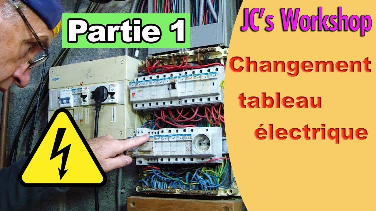 Renovation Electrique Soi Meme changement tableau électrique fusibles vers disjoncteurs, partie 1 #98