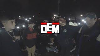 EL MENOR LUCK MC vs. DGO GRIZZLY vs. MC SAMO SILENCIO: Octavos - DEM Duplas II 2019