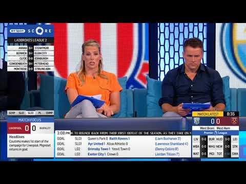 BT Sport Score part 2 16/09/17