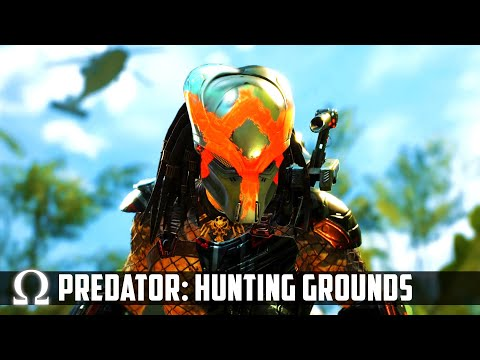 PREDATOR: HUNTING GROUNDS Is FINALLY HERE! | Predator Hunting Grounds Beta Trial Gameplay #1