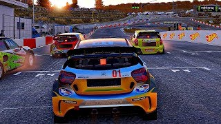 Project CARS 2 - Gameplay Mercedes AMG A45 @ Lankebanen Rallycross [4K 60FPS ULTRA]