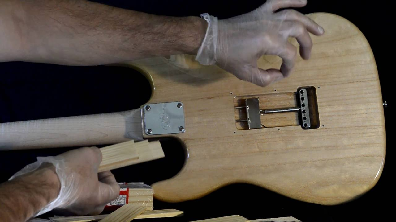 How to block a Vibrato/Tremolo like a Fender Stratocaster Eric Clapton  model  G&L Legacy featured