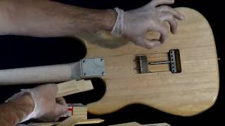 How to block a Vibrato/Tremolo like a Fender Stratocaster Eric Clapton model. G&L Legacy featured