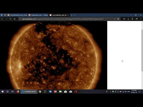 Solar Activity and Radio propagation conditions end of the week December 26th 2018