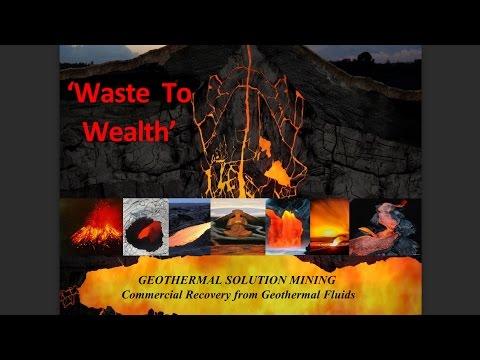 Geothermal Solution Mining Possibilities on Hawaii Island