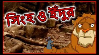 সিংহ ও ইঁদুর | Bangla Cartoon | Panchatantra Moral Stories For Children | Chiku TV Bangla