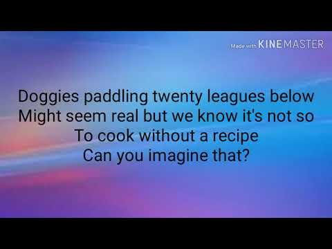Can You Imagine That? Lyrics - Mary Poppins Returns