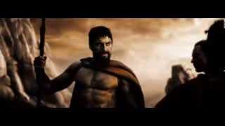 300 Спартанцев - Лучший Момент В Фильме!