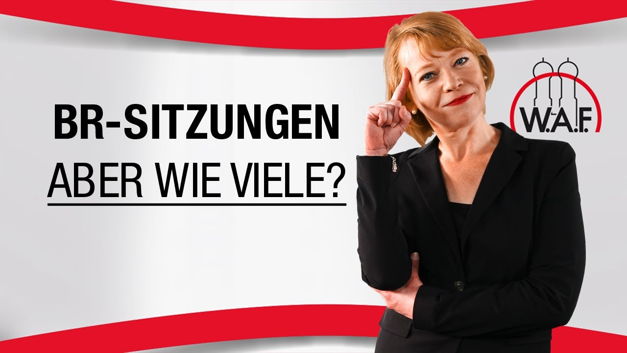 ausschüsse des betriebsrats   lexikon für den betriebsrat   w.a.f., Einladung