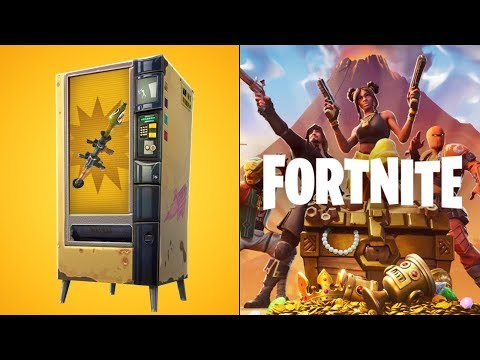*ALL* VENDING MACHINE LOCATIONS In Fortnite Battle Royale! (SEASON X)