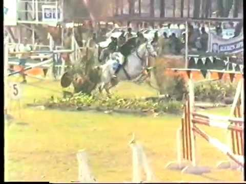 1987 Zambia   Kitwe, Derby, CHL, part 8, Open Jumpoff, Lotta Éric Nathalie Grant, VHS80