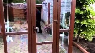 видео Остекление веранды алюминиевым профилем. Фото