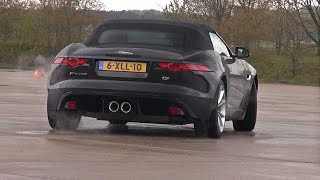 Jaguar F-Type S 3.0L V6 DRIFT FUN!