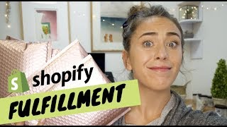 How I Process + Pack + Ship My Shopify Orders 2019