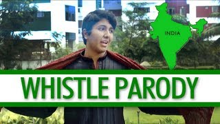 Flo Rida - Whistle Parody - Go To India
