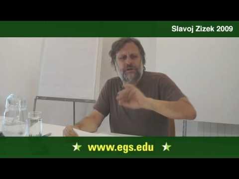 Slavoj Žižek. The Return To Hegel. 2009 1/16