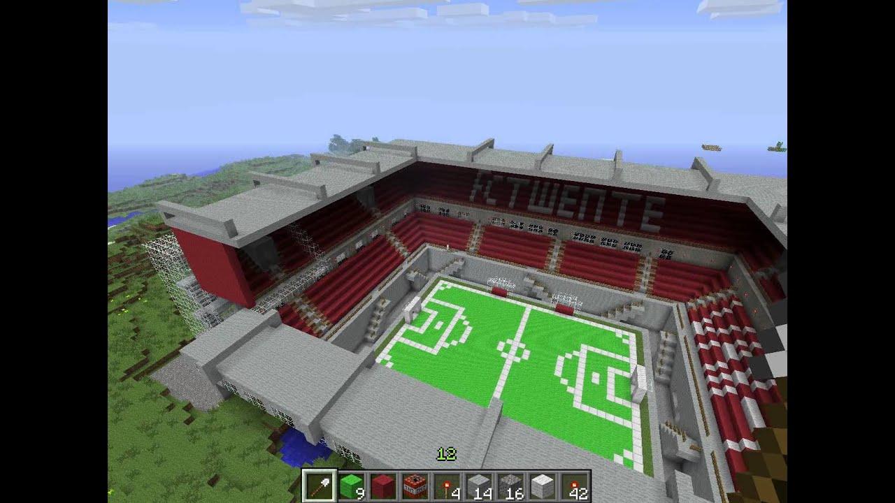 Minecraft Grolsch Veste Fc Twente Youtube