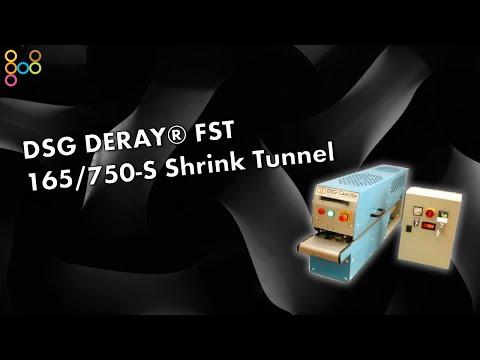 DSG DERAY® FST 165/750-S Shrink Tunnel