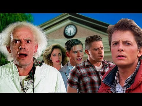BACK TO THE FUTURE - Then and Now 2017 ⭐ Real Name and Age