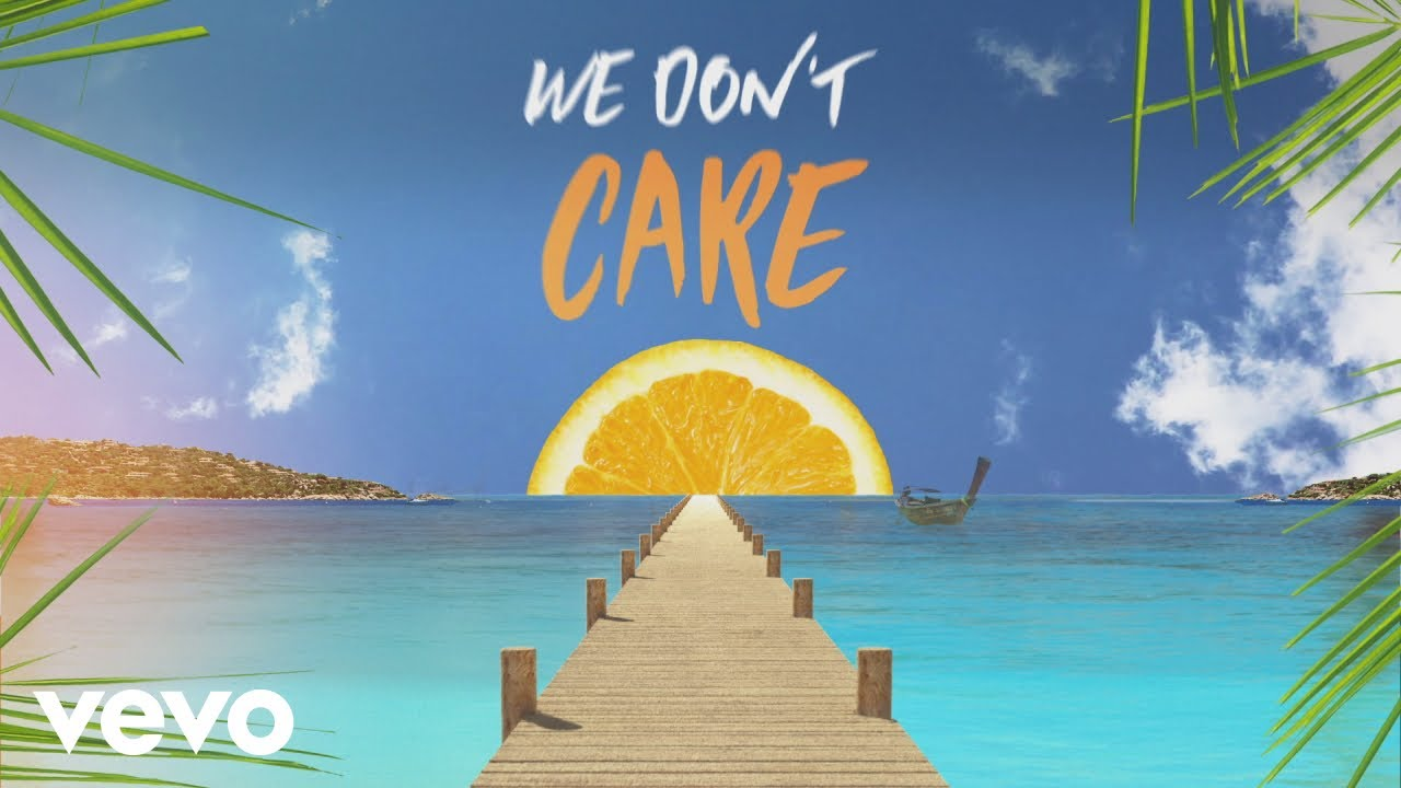 Sigala The Vamps We Don T Care Lyric Video Youtube