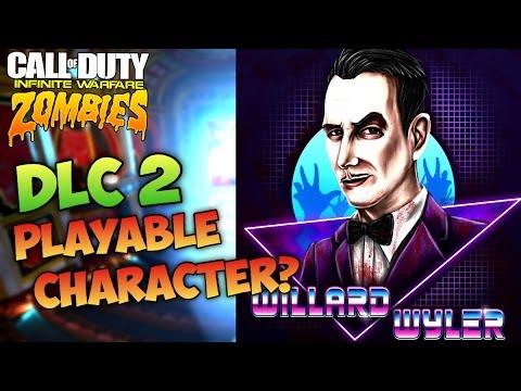 WILLARD WYLER PLAYABLE CHARACTER INFINITE WARFARE ZOMBIES!? - IW Zombies DLC 2 New Characters