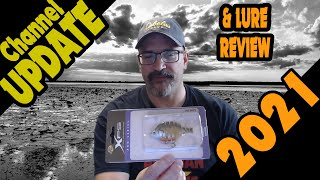 Channel update and Cabela s Lure Review 2021 Kayak Bass and Pike Fishing