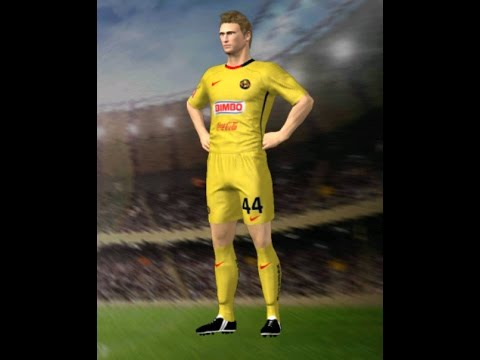 Club América 2008/09 Kits Dream League Soccer 16 & FTS15