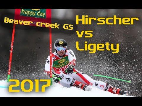 Marcel Hirscher Vs Ted Ligety GS Beaver Creek Technical Analysis 2017