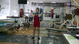 Кожевин Никита, 10 лет, вк 46 На грудь в п п от голени15 кг  Новичок