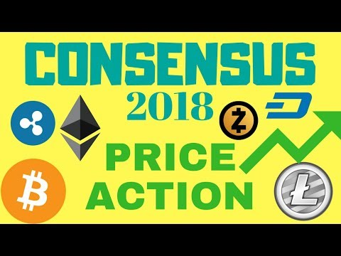 Consensus 2018 - Crypto Prices Jump Higher